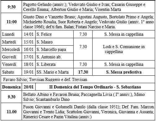 Calendario Ortodosso Rumeno 2020.Domenica 13 Gennaio 2019 S Ambrogio Di Grion